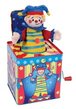 Schylling Jack in the Box Musical Silly Circus Toy Delight Child Kids Gift - $29.77