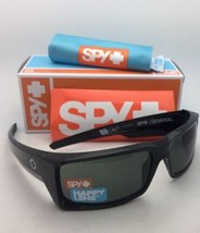 New SPY OPTIC Sunglasses GENERAL Shiny Black Frames with Happy Grey-Green Lenses