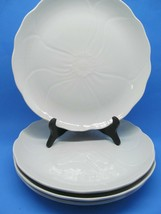 "Mikasa Magnolia Spring 11 1/4"" Dinner Plates Set Of 4 Plates Excellent C... - $48.02"