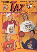 Leisure Arts #2785 - TAZ Cross-Stitch Pattern Booklet ~ Tasmanian Devil - $7.43