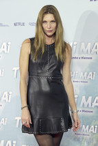 Hot Cristina Piaget Designer Trendy  Studded Women  Real Leather Replica Dress