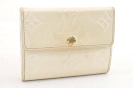 Louis Vuitton Vernis Coin Case White Lv 3061 - $84.73