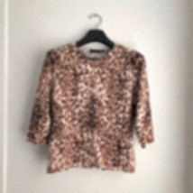 ♥️MAKE OFFER♥️ Sz M Leopard Print Crop Top - $59.95