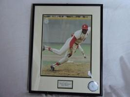 "Bob Gibson St Luis Cardinals Autograph Framed Picture 11""x14"" Frame - $24.74"