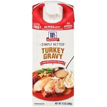 McCormick Simply Better Turkey Gravy, 12 oz - $7.22