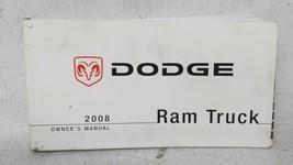 2008 Dodge Ram 1500 Owners Manual 52829 - $30.91