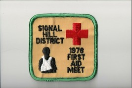 1978 Signal Hill District First Aid Meet patch - $5.94
