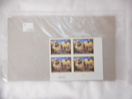 Mount Rushmore Plate Number block of 4 Stamps  - Mint NH VF Original pk - $22.23