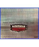 1969 Mercury Dlx Brochure- Cougar, Marauder, MINT! - $5.33
