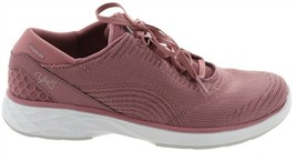 Ryka Knit Lace-Up Sneakers Lexi Nostalgia Rose 10M NEW A347977 - €45,16 EUR