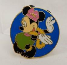 Disney Pin 12813 WDW Cast Lanyard Series - Hula Minnie Mouse RARE - $9.89