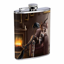 Hot Anime Witches D9 Flask 8oz Stainless Steel Hip Drinking Whiskey - $13.81