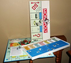 Vintage 1996 MONOPOLY Parker Brothers R4eal Estate Trading Board GAME~Co... - $33.00