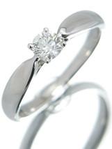 """TIFFANY & Co. Tiffany """"Harmony ring 1P diamond US3.5 EU45 From Japan F/S - $760.32"""