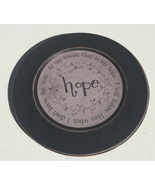 33082H  Wood Plate Hope - At my lowest God is my hope. I will follow Hi... - $10.95