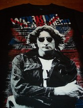 THE BEATLES JOHN LENNON WORKING CLASS HERO T-Shirt SMALL NEW British Flag - $19.80