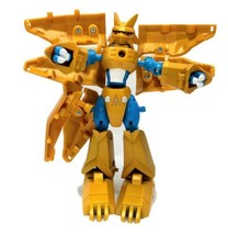RARE 2000 Bandai Digimon Magnamon Digi Egg of Miracles Gold Armor Digivolving - $99.99