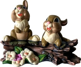 Walt Disney Classics Collection Bambi THUMPER'S SISTERS figurine Excellent - $34.99