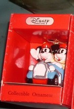 Mickey MOUSE IN  blue Car Schmid Porcelain Disney  Ornament - $24.99