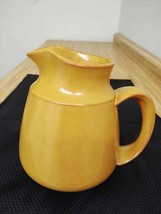 MCM Franciscan gold/mustard milk or water pitcher. - $42.75