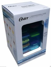 Oster Stainless Steel Universal Comb Attachment 10 Pack 78936-100 Storage Case - $64.94