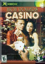 XBOX - High Rollers Casino (2004) *Complete w/Case & Instructions* - $4.00