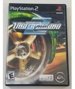 Need For Speed Underground 2 Black Edition PS2 Game Complete 2006 EA - $23.36