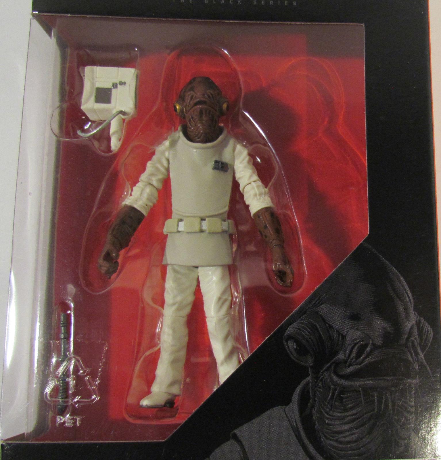 Disney Hasbro Star Wars Black Series Admiral Ackbar 3.75in Figure