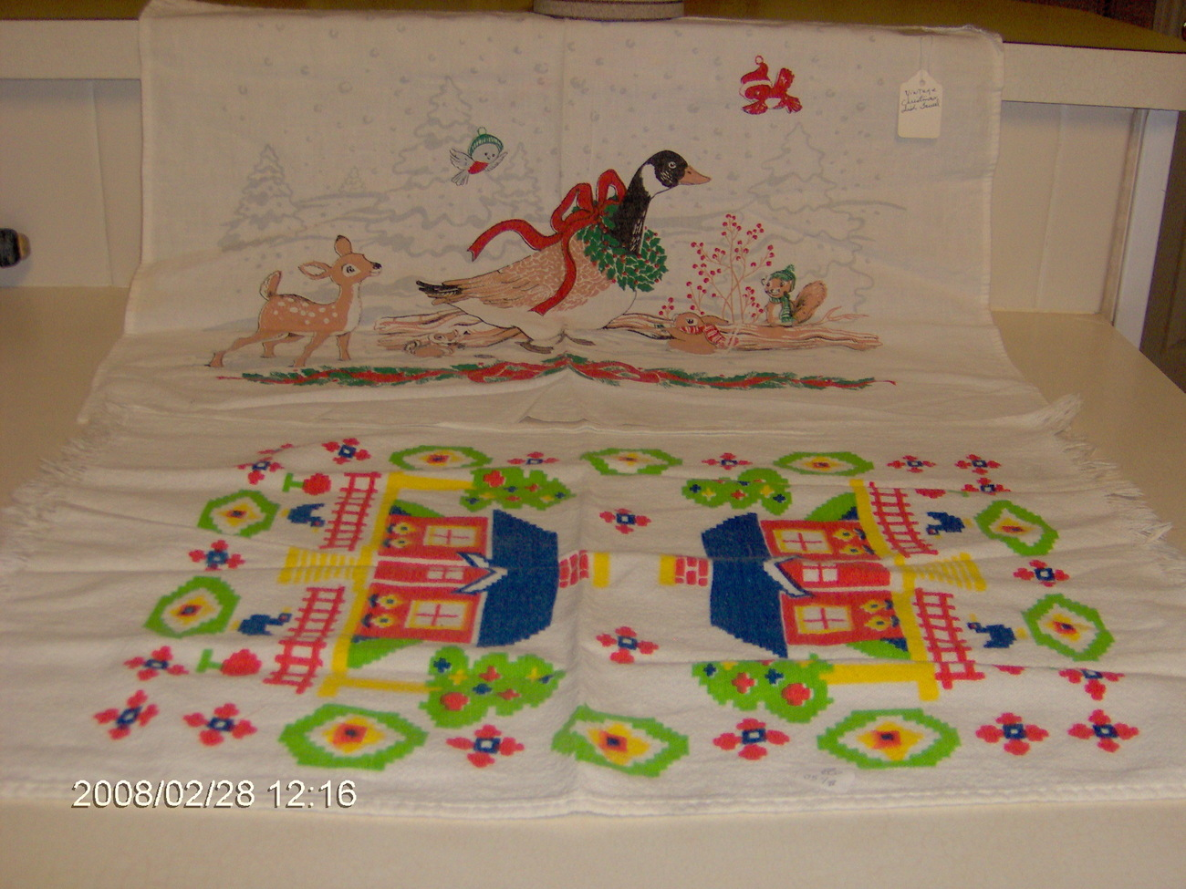 vintage collecteble kitchen towels