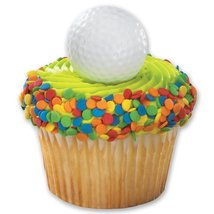 DecoPac Golf Ball Cupcake Rings (12 Count) - $2.50