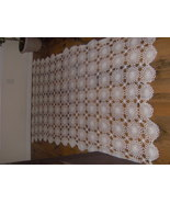 crochet table cloth - $100.00