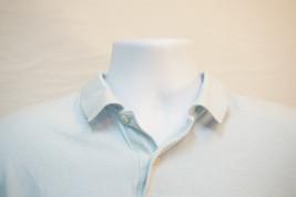 Izod Midweight Cotton Polo Shirt, Powder Blue, Men's XL 7601 - $8.88