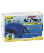Tetra Whisper Aquarium Air Pump 40 Gallon - $13.98