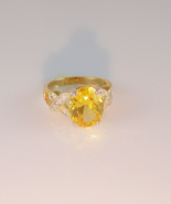 Golden Topaz Fashion Ring  - $25.00