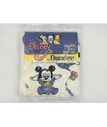 Vtg 1984 Dundee Disney Babies Mickey Hooded Baby Towel Wash Mitt Set Sea... - $89.95