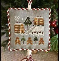 Gingerbread Village Ornament 2011 Series #4 pattern Little House Needleworks - $5.40