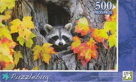 Puzzlebug 500 - Racoon In A Tree - $15.00