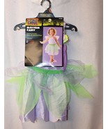 NEW GIRLS BLOSSOM FAIRY SIZE 2T 4T 2-4 YEAR OLDS DRESS W WINGS HALLOWEEN... - $9.74