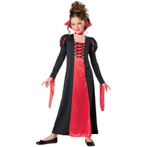 Girls Vampire Dress Halloween Costume S 4-6 M 8-10 L 12-14 NEW Cosplay - $21.99