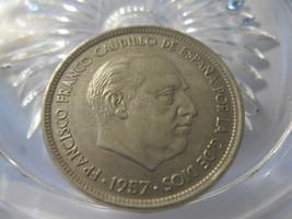 (FC-143) 1958 Spain: 50 Ptas - 1957 w/ 58 in star - Una Grande Libre ed. - $5.50