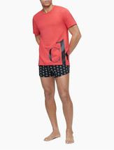 calvin Klein CK ONE Logo Crewneck Graphic T-Shirt, Red,  L - $19.79