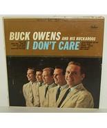 BUCK OWENS - i don't care CAPITOL 2186 (LP vinyl record) [Vinyl] - $21.40