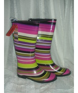Missoni for Target Magenta Stripe Girls Rain Boot  size 3 - $45.00