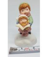 Joy to the World Avon Christmas Holiday Musical Carolers Porcelain Figurine - $9.86