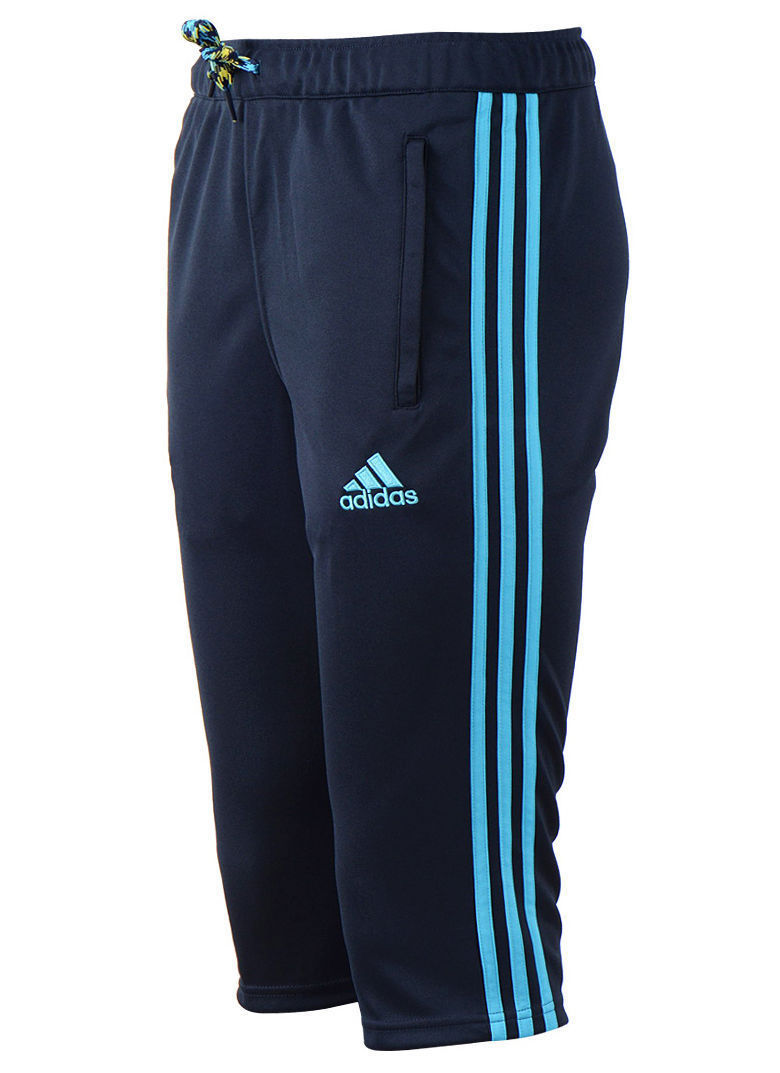 adidas men 39 s chelsea fc capri 3 4 pants soccer football training pants w890852 athletic apparel. Black Bedroom Furniture Sets. Home Design Ideas