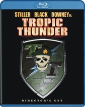 Tropic Thunder (Blu-ray Disc, 2008, Director's Cut)