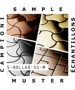 SAMPLE Mosaic S-Dollar-S-S-M | Collection Dollar Stainless Steel mirror - $50.00