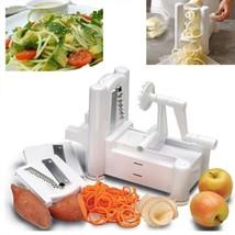 Paderno Tri-blade Plastic Spiral Vegetable Slicer Kitchen Spiralizer Cutter - $28.04