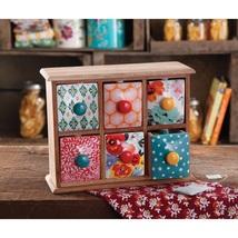 Storage Tea Spice Box Kitchen Tool Ingredient O... - $46.94