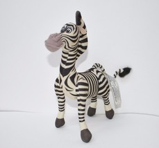 "Plush 8"" Madagascar Marty Zebra Dreamworks Hasbro 2004 2005 - $13.09"